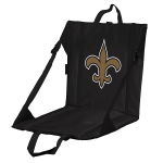 New Orleans Stadium Seat w/ Saints Logo - Cushioned Back