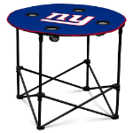 New York Giants Round Tailgating Table