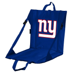New York Stadium Seat w/ Giants Logo - Cushioned Back