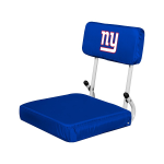 New York Stadium Seat w/ Giants Logo - Hardback