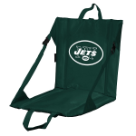 New York Stadium Seat w/ Jets Logo - Cushioned Back