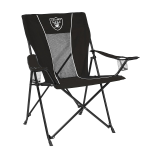 Oakland Game Time Chair w/ Raiders Logo