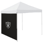 Oakland Tent Side Panel w/ Raiders Logo - Logo Brand