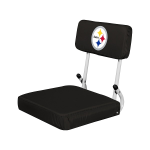 Pittsburgh Stadium Seat w/ Steelers Logo - Hardback