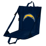 Los Angeles Stadium Seat w/ Chargers Logo - Cushioned Back