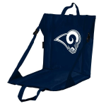 Los Angeles Stadium Seat w/ Rams Logo - Cushioned Back