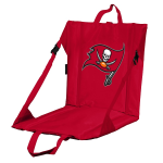 Tampa Bay Stadium Seat w/ Buccaneers Logo - Cushioned Back