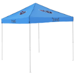 Tennessee Tent w/ Titans Logo - 9 x 9 Solid Color Canopy