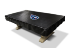 Tennessee Pool Table Cover w/ Titans Logo - Black Naugahyde