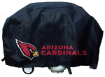 Arizona Grill Cover with Cardinals Logo on Black Vinyl - Deluxe