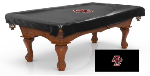 Boston College Pool Table Cover w/ Eagles Logo -Black Vinyl