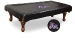James Madison Pool Table Cover w/ Dukes Logo - Black Vinyl