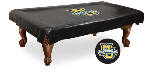 Marquette Pool Table Cover w/ Golden Eagles Logo - Black Vinyl