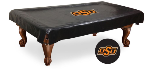 Oklahoma State Pool Table Cover w/ Cowboys Logo - Vinyl