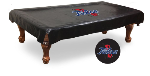 Tulsa Pool Table Cover w/ Golden Hurricanes Logo - Vinyl