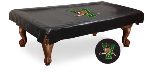 Vermont Pool Table Cover w/ Catamounts Logo - Black Vinyl
