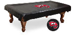Western Kentucky Pool Table Cover w/ Hilltoppers Logo - Vinyl