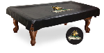 Wright State Pool Table Cover w/ Raiders Logo - Black Vinyl