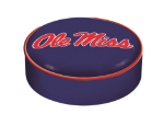 Ole Miss Rebels Bar Stool Seat Cover
