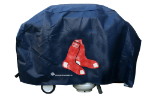 Boston Grill Cover with Red Sox Logo on Blue Vinyl - Economy