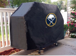Buffalo Grill Cover with Sabres Logo on Black Vinyl