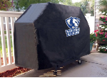 Eastern Illinois Grill Cover with Panthers Logo on Black Vinyl
