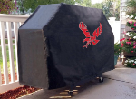 Eastern Washington Grill Cover with Eagles Logo on Black Vinyl
