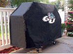 Gonzaga Grill Cover with Bulldogs Logo on Black Vinyl