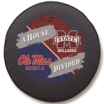Ole Miss - Mississippi State House Divided Spare Tire Cover