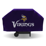 Minnesota Grill Cover with Vikings Logo on Purple Vinyl - Economy