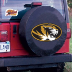 University of Missouri Tire Cover with Tigers Logo