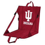 Indiana Stadium Seat w/ Hoosiers Logo - Cushioned Back