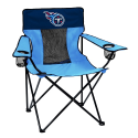 Tennessee Titans Elite Canvas Chair w/ Officially Licensed Team Logo