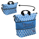 Tennessee Titans Quatrefoil Expandable Tote w/ Officially Licensed Logo