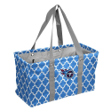 Tennessee Titans Quatrefoil Picnic Caddy w/ Officially Licensed Logo