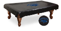 Nevada Pool Table Cover w/ Wolf Pack Logo - Black Vinyl