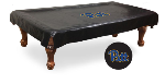 Pittsburgh Pool Table Cover w/ Panthers Logo - Black Vinyl