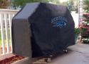 Nevada Grill Cover with Wolf Pack Logo on Black Vinyl