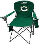 Green Bay Packers Coleman XL Quad Canvas Chair