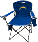 Los Angeles Chargers Coleman XL Quad Canvas Chair