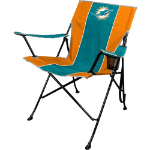 Miami Dolphins Tailgate Canvas Chair