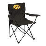 Iowa Quad Chair w/ Hawkeyes Logo