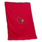 Louisville Cardinals Sweatshirt Blanket