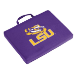 LSU Seat Cushion w/ Tigers logo