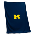 Michigan Wolverines Sweatshirt Blanket