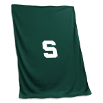 Michigan State Spartans Sweatshirt Blanket