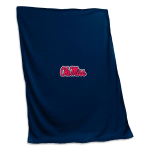 Ole Miss Rebels Sweatshirt Blanket