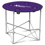 Northwestern Wildcats Round Tailgating Table