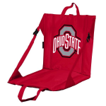 Ohio State Stadium Seat w/ Buckeyes Logo - Cushioned Back