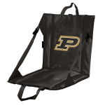 Purdue Stadium Seat w/ Boilermakers Logo - Cushioned Back